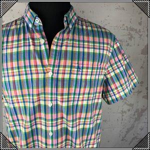 * Original Penguin Slim Fit Plaid Shirt Button Up